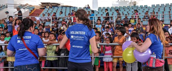 volunteers in tacloban philippines