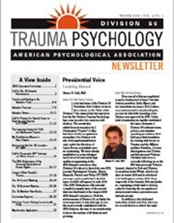 Featured in the Trauma Psychology Journal