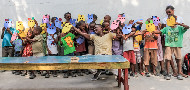 The children of Haiti