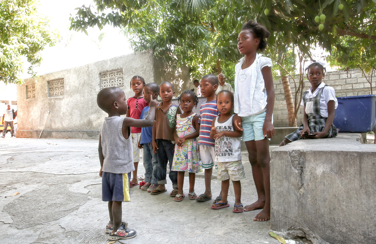 Haiti Kids Singing